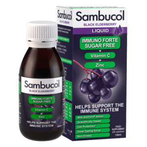 Sambucol Immuno Forte Sugar Free 120ml Liquid