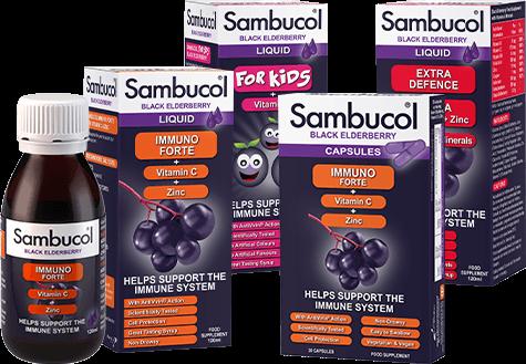 Sambucol Immune Support Range