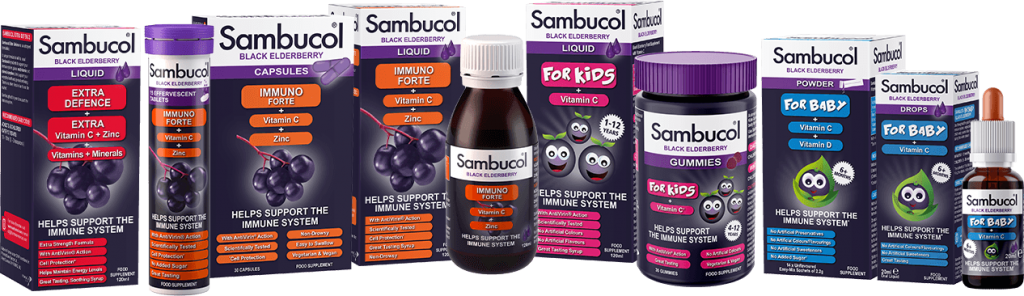 Sambucol Black Elderberry Range